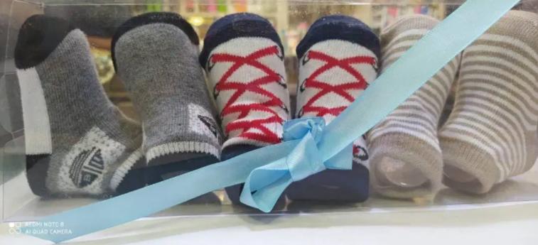 Newborn Baby Floor Sock Cotton Kids Infant Girl Boy Non Slip Short Soc for sale