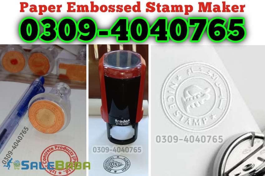 Stamp Maker in Lahore, Stamp Maker in pakistan