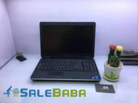 Dell Latitude E6540 core i7 4th Generation Silver Color Laptop For Sale