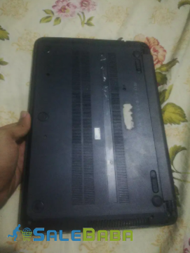 HP Core i3 laptop in black color is available for sale
