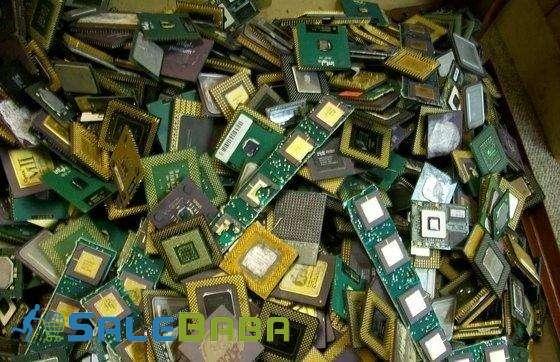 Ceramic CPU Processor Gold Scrap  AMD 486 CPU and 586 and Ram