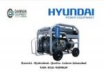 PORTABLE GENERATOR PETROL GAS  HYUNDAI HGS 6250  55KVA