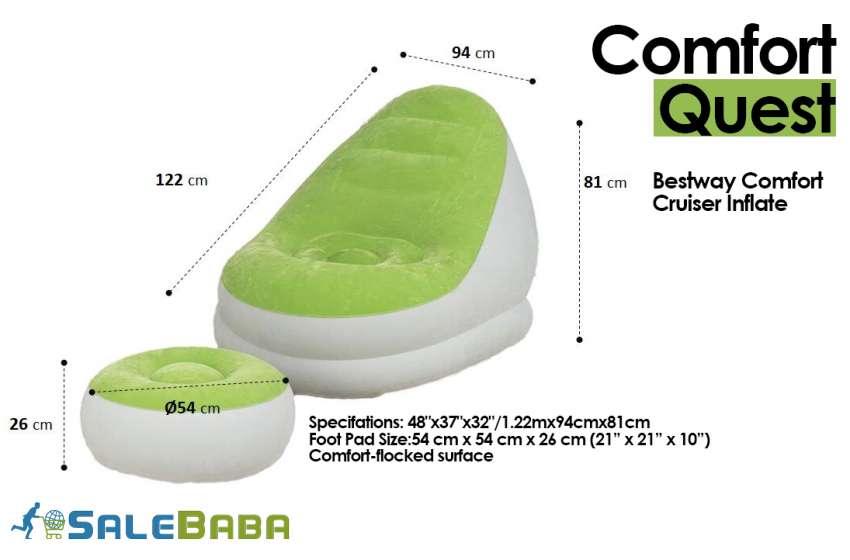 Bestway Comfort Cruiser Inflate A Chair 48x37x32