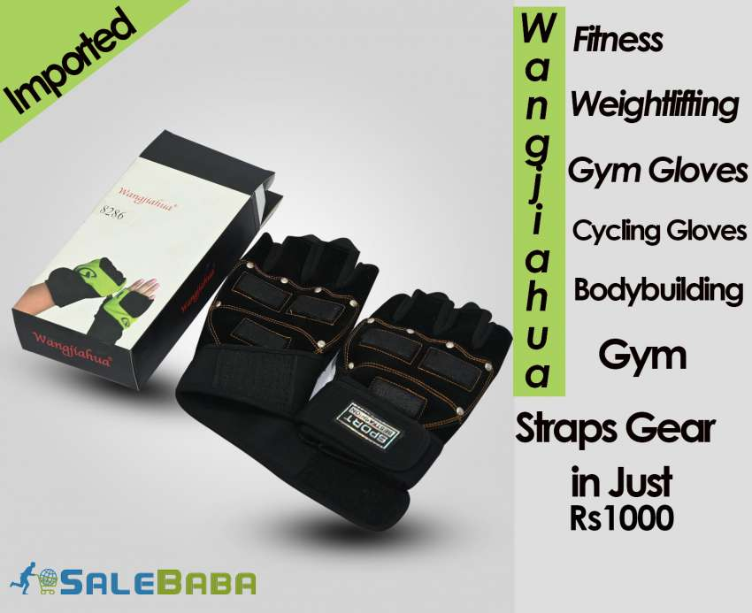 Wangjiahua Fitness Weightlifting Gym Gloves,Cycling Gloves Bodybuilding Gym
