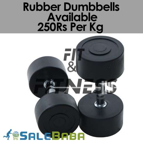 High Quality Rubber Dumbbells