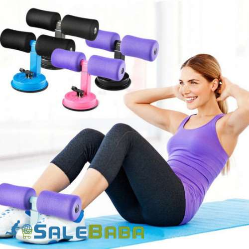SelfSuction Sit Up Bar Stand Fitness Strength Trainer Exercise for Home