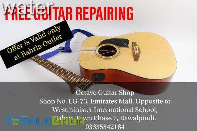 Octave Guitar Shop and Music Lessons Rawalpindi